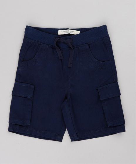 Bermuda-de-Sarja-Infantil-Cargo--Azul-Marinho-9662013-Azul_Marinho_1