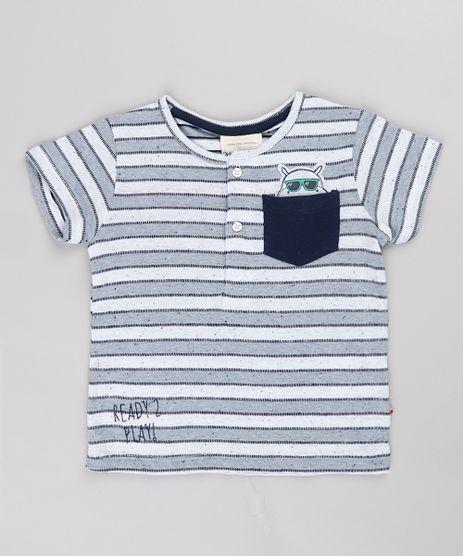 Camiseta-Infantil-Listrada-com-Bolso-Gola-Portuguesa-Manga-Curta-Cinza-Mescla-Claro-9676238-Cinza_Mescla_Claro_1