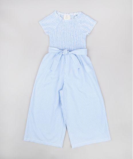 Macacao-Infantil-Pantacourt-Listrado-com-Faixa-para-Amarrar-Manga-Curta-Azul-Claro-9678262-Azul_Claro_1