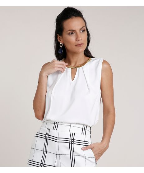 Regata-Feminina-Acetinada-com-Corrente-Decote-Redondo-Off-White-9684400-Off_White_1