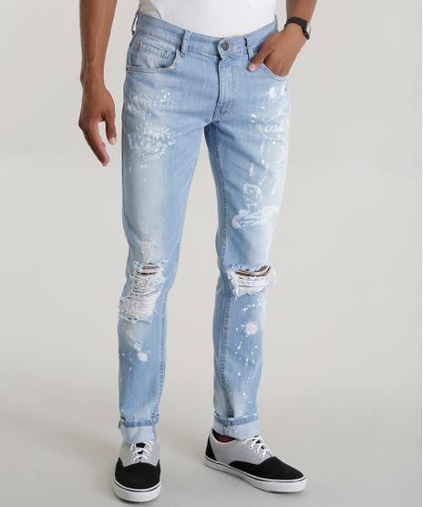 930b5db19 Calca-Jeans-Slim-Super-Homem-Azul-Claro-8596607-