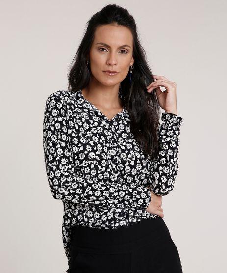 Camisa-Feminina-Estampada-Floral-Manga-Longa-Preta-9690946-Preto_1