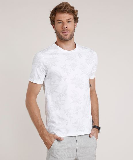 Camiseta-Masculina-Estampada-Floral-Manga-Curta-Gola-Careca-Off-White-9739139-Off_White_1