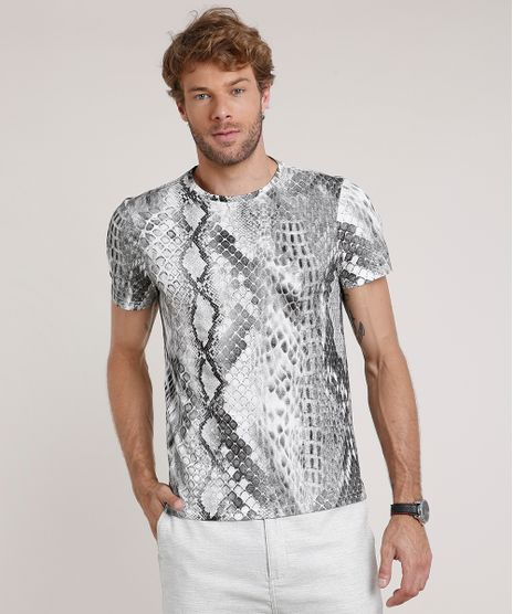 Camiseta-Masculina-Slim-Fit-Estampada-Animal-Print-Cobra-Manga-Curta-Gola-Careca-Off-White-9739543-Off_White_1