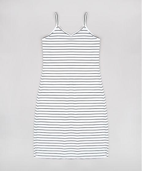 Vestido-Infantil-Midi-Canelado-Listrado-com-Fenda-Alca-Fina-Off-White-9812241-Off_White_1