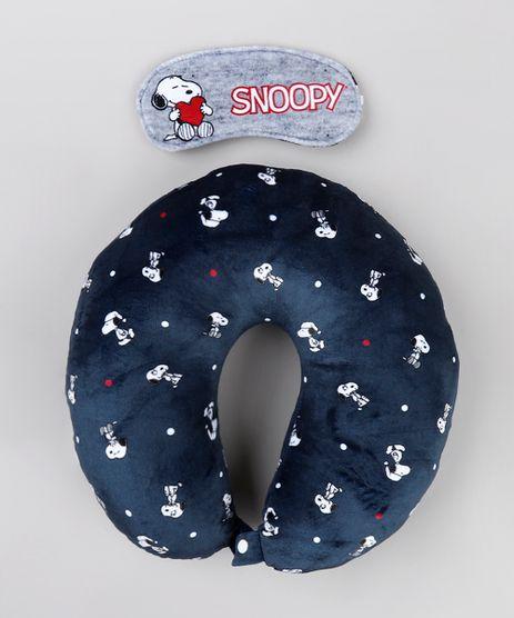 Kit-de-Apoio-de-Pescoco-Snoopy-Estampado---Tapa-Olho-Azul-Marinho-9751217-Azul_Marinho_1