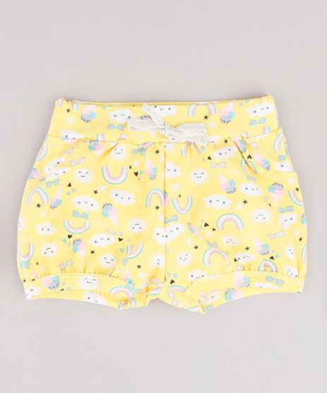 Short-Infantil-Balone-Estampado-Arco-Iris-Amarelo-9876533-Amarelo_1