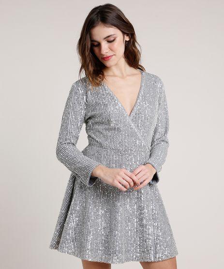 Vestido-Feminino-Mindset-Curto-Envelope-em-Tule-com-Paetes-Manga-Longa-Prateado-9655199-Prateado_1
