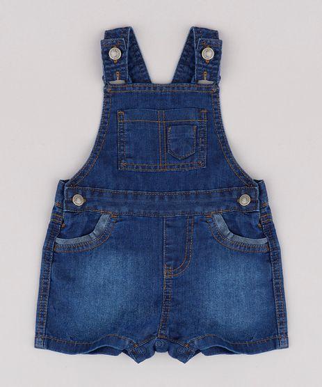Jardineira-Jeans-Infantil-com-Bolsos-Azul-Escuro-9822039-Azul_Escuro_1