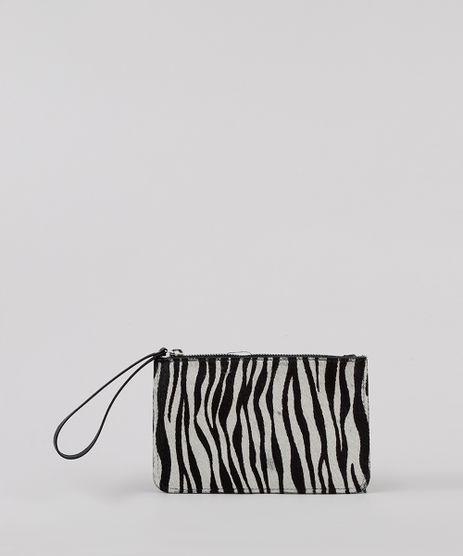 Carteira-Feminina-Estampada-Animal-Print-de-Zebra-Alca-de-Mao-Preta-9797247-Preto_1