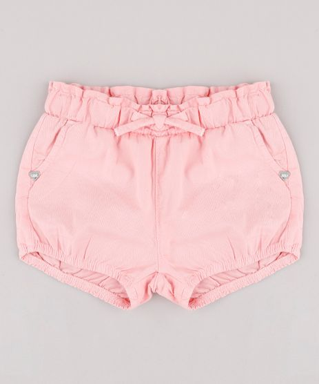 Short-de-Sarja-Infantil-Balone-com-Bolso-Rosa-Claro-9736002-Rosa_Claro_1