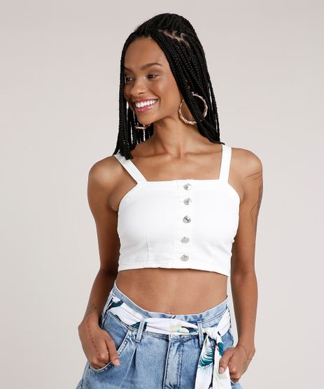 Top-Cropped-de-Sarja-Feminino-com-Botoes-Alca-Media-Decote-Reto-Off-White-9833544-Off_White_1
