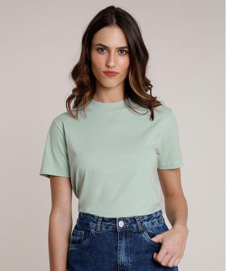 T-Shirt-Feminina-Mindset-Manga-Curta-Decote-Redondo-Verde-Claro-9394894-Verde_Claro_1