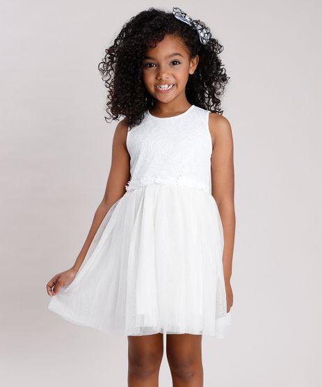 Vestido-Infantil-em-Tule-com-Brilho-e-Paete-Sem-Manga-Off-White-9682138-Off_White_1