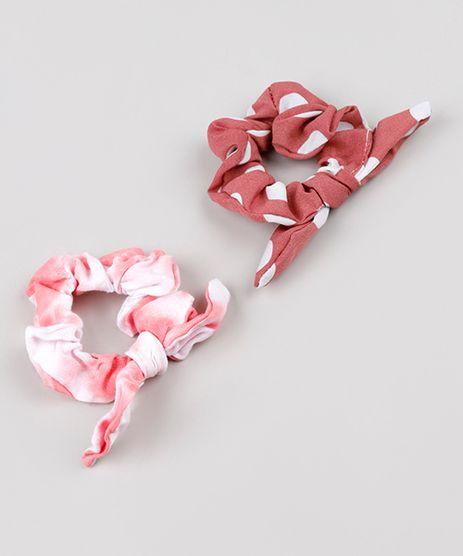 Kit-de-2-Elasticos-de-Cabelo-Scrunchie-Estampados-Poa-e-Tie-Dye-Rosa-9721545-Rosa_1