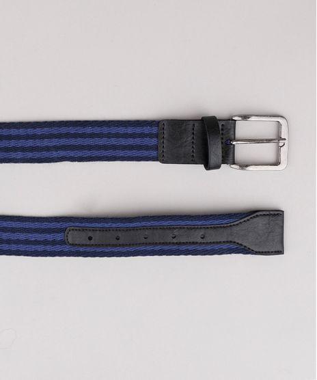 Cinto-Masculino-Listrado-em-Cadarco-Azul-Marinho-9806710-Azul_Marinho_1