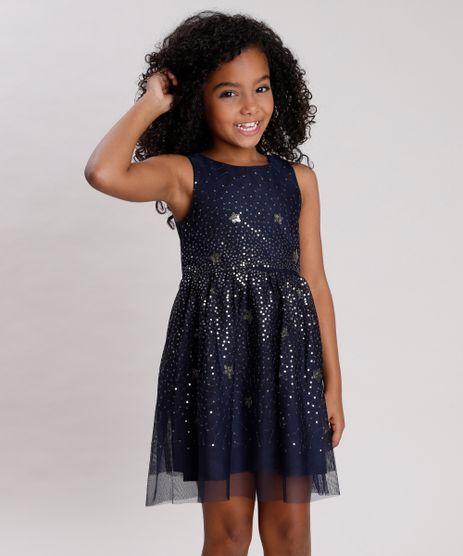 Vestido-Infantil-em-Tule-com-Paete-Sem-Manga-Azul-Marinho-9674406-Azul_Marinho_1