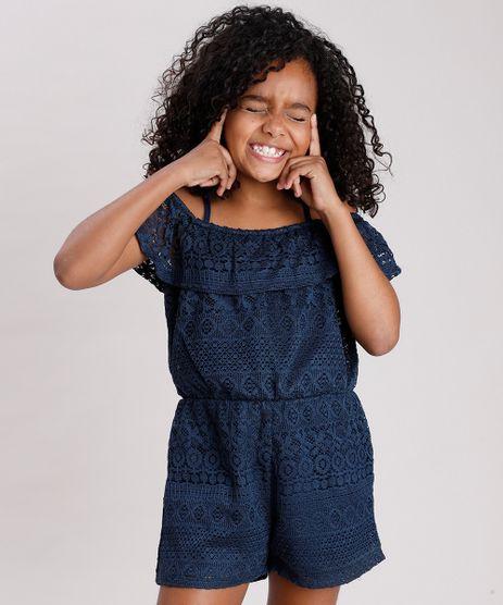 Macaquinho-Infantil-Open-Shoulder-em-Renda-Manga-Curta-Azul-Marinho-9682141-Azul_Marinho_1