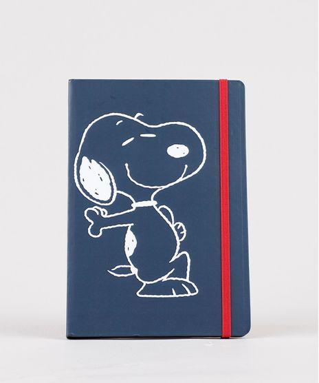 Caderno-Snoopy-Capa-Dura-Sem-Pauta-205-cm-x-14-cm--Azul-Marinho-9797259-Azul_Marinho_1