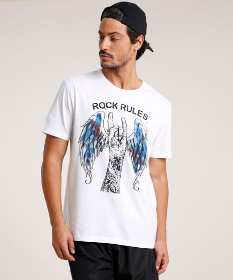 Camiseta-Masculina--Rock-Rules--Manga-Curta-Gola-Careca-Branca-9738701-Branco_1