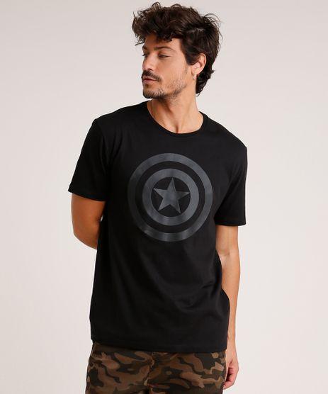 Camiseta-Masculina-Capitao-America-Manga-Curta-Gola-Careca-Preta-9727013-Preto_1