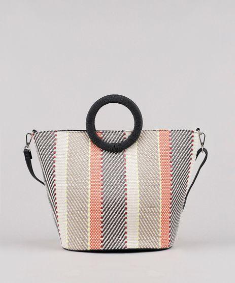 Bolsa-Feminina-Tote-Grande-com-Estampa-e-Textura-Bege-9602441-Bege_1