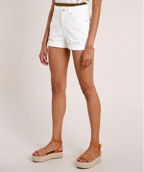 Short-de-Sarja-Feminino-Mom-Vintage-Cintura-Super-Alta-Destroyed-Off-White-9699539-Off_White_1