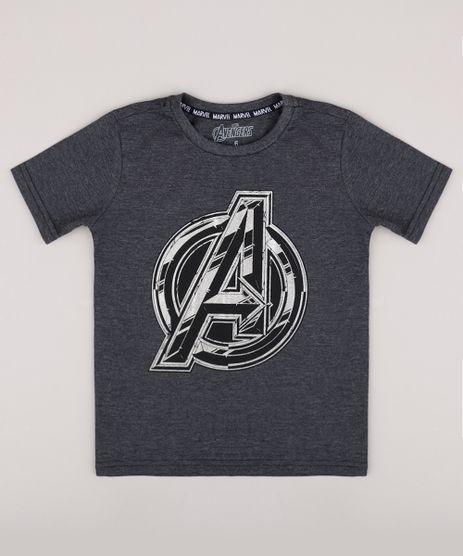 Camiseta-Infantil-Os-Vingadores-Manga-Curta-Cinza-Mescla-Escuro-9742567-Cinza_Mescla_Escuro_1