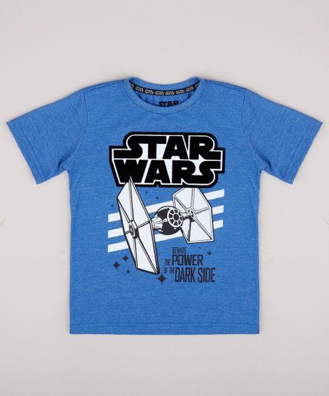 Camiseta-Infantil-Star-Wars-Manga-Curta-Azul-9742566-Azul_1