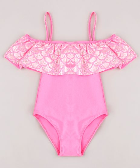 Maio-Infantil-Sereia-Ombro-a-Ombro-com-Brilho-Holografico-Protecao-UV50--Pink-9771575-Pink_1