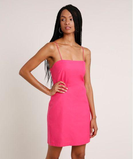 Vestido-Feminino-Curto-Alca-Fina-Pink-9838461-Pink_1