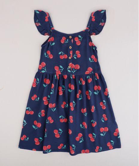 Vestido-Infantil-Estampado-de-Cereja-com-Botoes-e-Babado-Alca-Fina--Azul-Marinho-9695673-Azul_Marinho_1