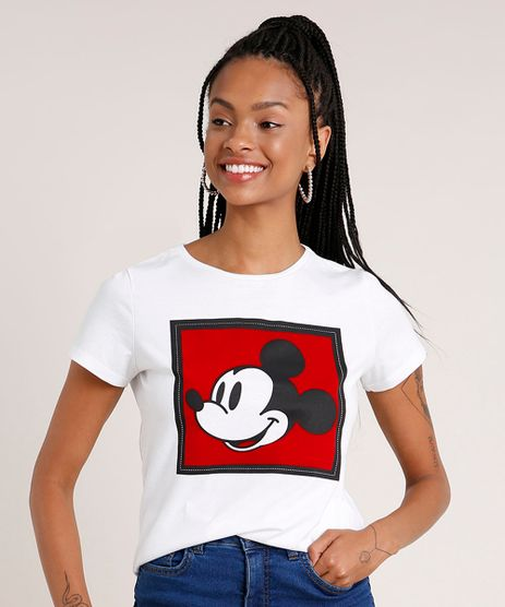 Blusa-Feminina-Mickey-Manga-Curta-Decote-Redondo-Off-White-9850847-Off_White_1