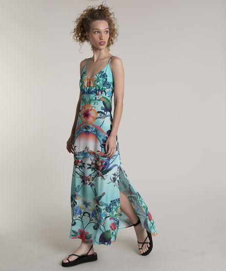 Vestido-Feminino-Blueman-Longo-Estampado-Melodia-com-Fenda-Alcas-Finas-Verde-Agua-9679061-Verde_Agua_1