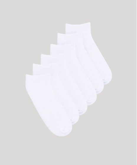 Kit-de-6-Meias-Masculinas-Invisiveis-Esportivas-Ace-Branco-759059-Branco_1
