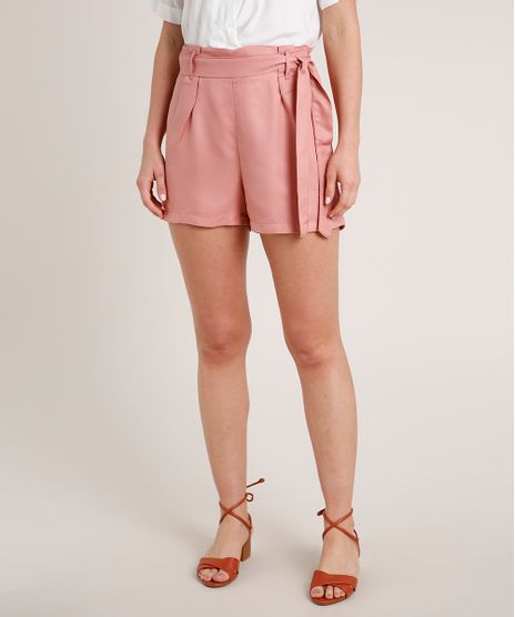 Short-Feminino-Clochard-Basico-Rose-9836761-Rose_1
