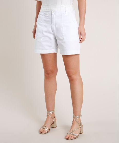 Short-de-Sarja-Feminino-Cintura-Super-Alta--Branco-9831927-Branco_1