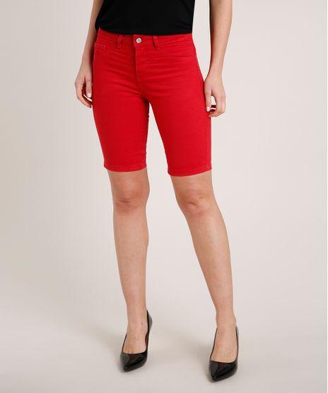 Bermuda-da-Sarja-Feminina-Ciclista-Vermelho-9816104-Vermelho_1