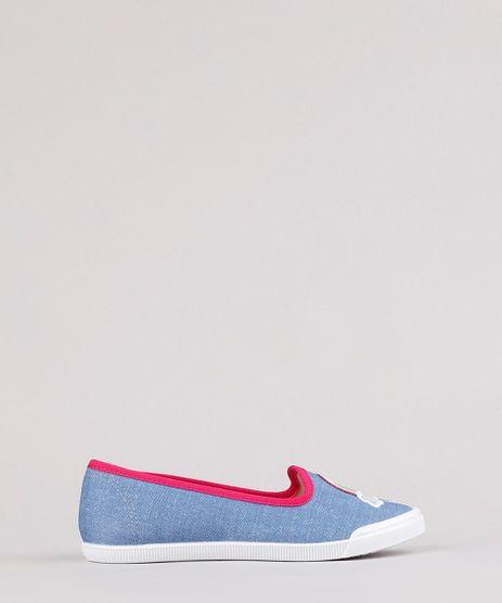 Slipper-Infantil-Molekinha-Arco-Iris-com-Bordado-Azul-9824891-Azul_1