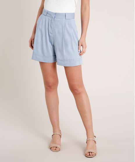 Short-Feminino-Alfaiatado-Cintura-Super-Alta-Azul-Claro-9685467-Azul_Claro_1