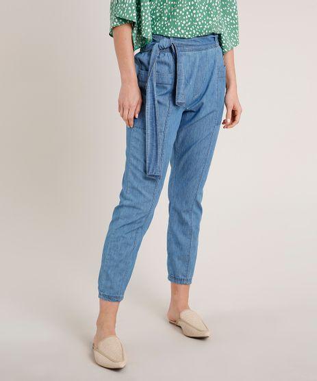 Calca-Jeans-Feminina-Clochard-com-Bolsos-Azul-Claro-9766729-Azul_Claro_1