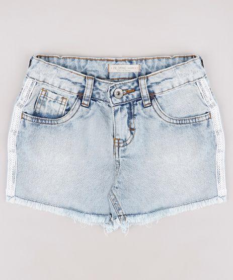 Short-de-Jeans-Infantil-com-Paete-Holografico-Barra-Desfiada-Azul-Claro-9755325-Azul_Claro_1