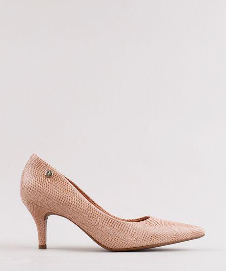 Scarpin-Feminino-Vizzano-Bico-Fino-com-Textura-de-Cobra-Bege-Escuro-9757026-Bege_Escuro_1