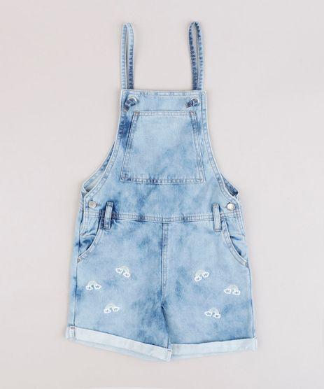 Jardineira-Jeans-Infantil-com-Bordado-de-Arco-Iris-e-Bolsos-e-Barra-Dobrada-Azul-Claro-9794716-Azul_Claro_1