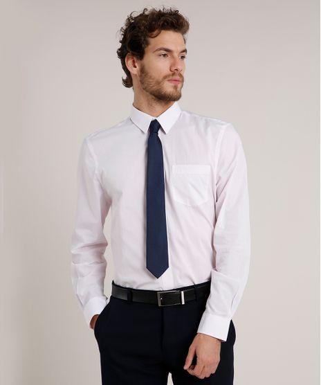 Camisa-Social-Masculina-Comfort-Maquinetada-com-Bolso-Manga-Longa-Rosa-Claro-9639464-Rosa_Claro_1
