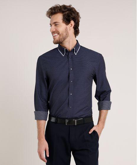 Camisa-Masculina-Comfort-Maquinetada-Estampada-Manga-Longa-Azul-Escuro-9639450-Azul_Escuro_1