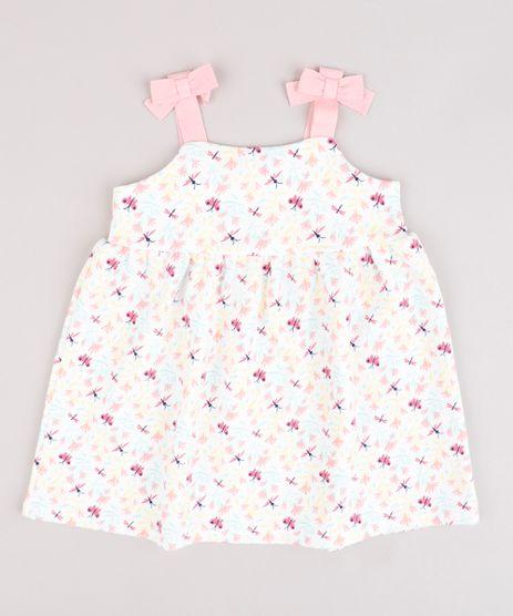Vestido-Infantil-Estampado-de-Borboletas-com-Lacos-Alca-Media-Branco-9664219-Branco_1
