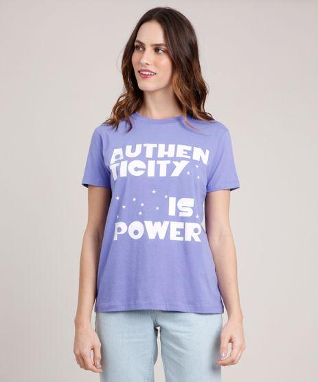 T-Shirt-Feminina-Mindset--Authenticity--Manga-Curta-Decote-Redondo-Lilas-9886826-Lilas_1