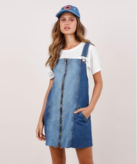 Salopete-Jeans-Feminina-Blueman-com-Recorte-e-Ziper-Azul-Medio-9809264-Azul_Medio_1