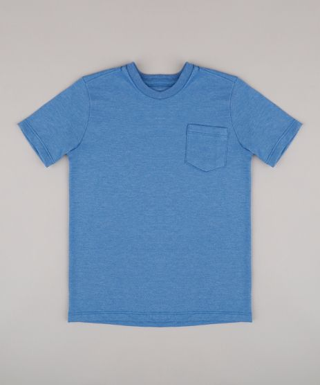Camiseta-Infantil-com-Bolso-Manga-Curta-Azul-9567186-Azul_1